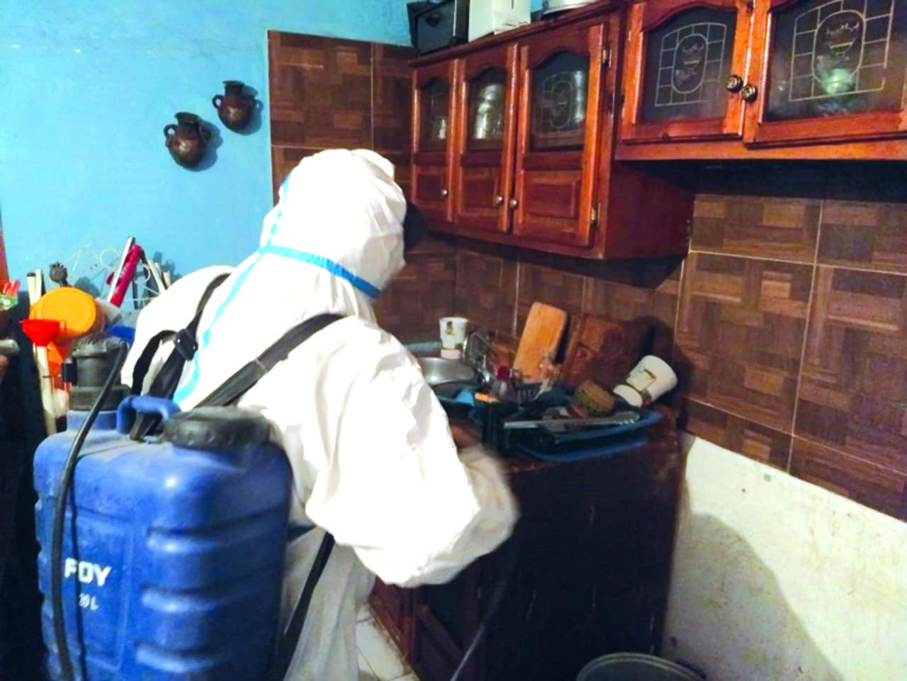 Van más de 250 desinfecciones en domicilios de Lerdo