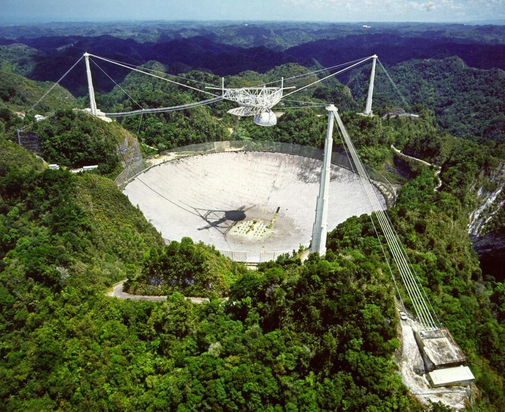 Radiotelescopio de Arecibo en Puerto Rico será desmantelado