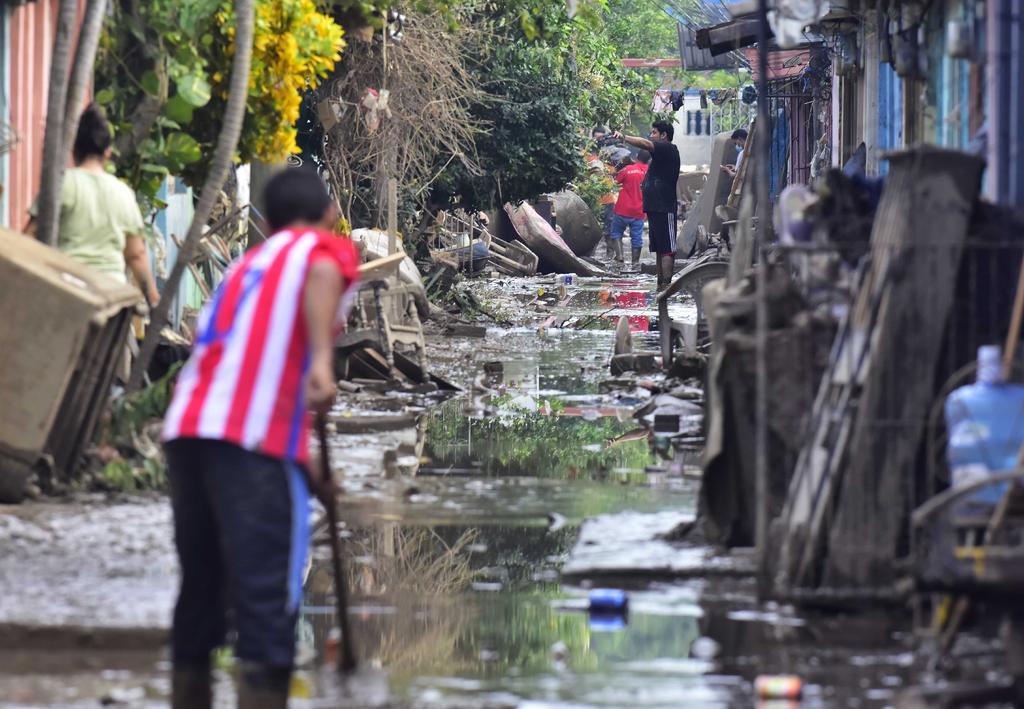 Lota y Eta dejan a Honduras devastada