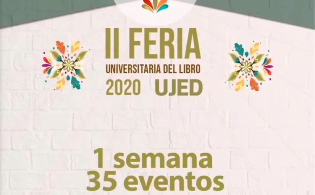 Inicia Feria del Libro de la Universidad Juárez del Estado de Durango