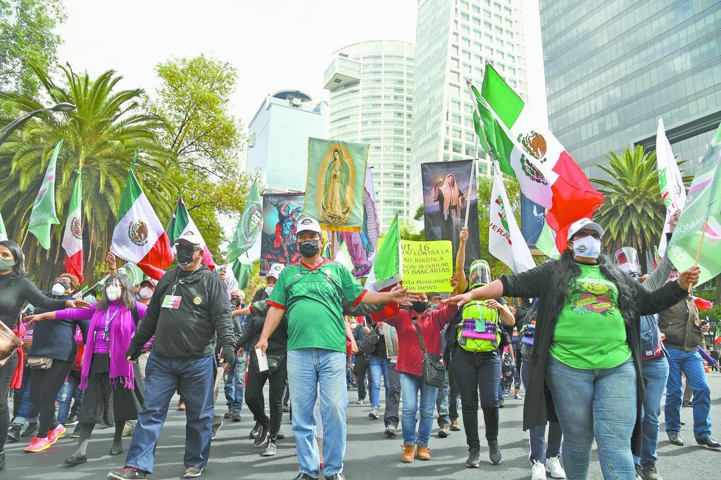 Llama Frenaaa a 'paro económico' contra 4T