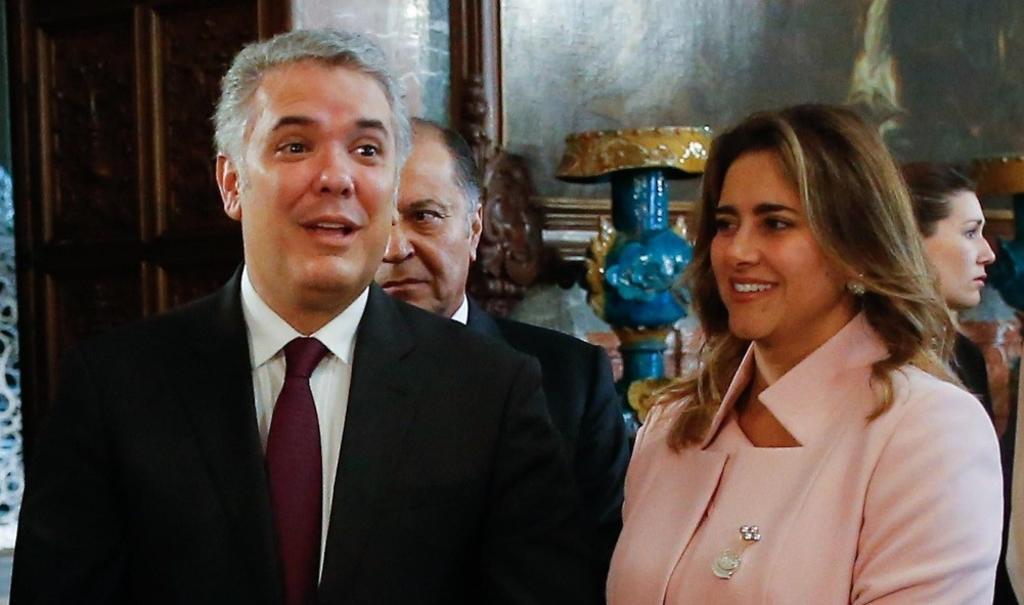 Esposa del presidente de Colombia da positivo a COVID-19