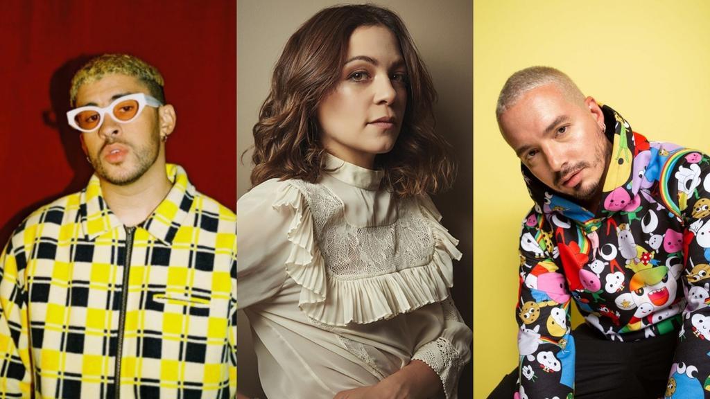 Bad Bunny, J Balvin y Natalia Lafourcade son nominados al Grammy 2020