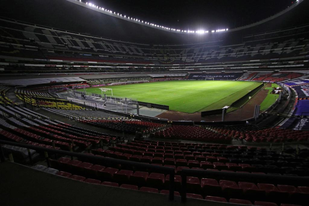 Situación complicada por COVID impide apertura del Estadio Azteca