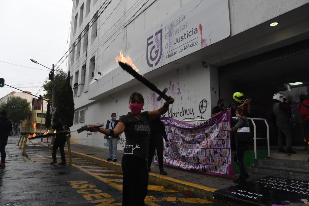 Denuncian feministas que autoridades en CDMX inventan delitos
