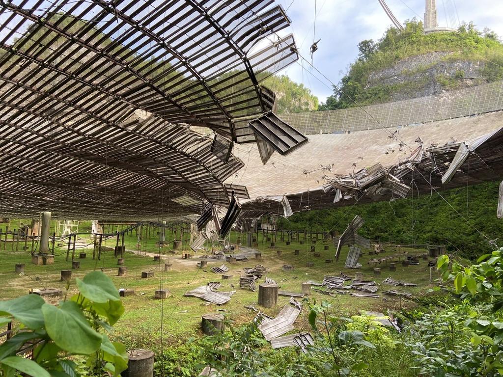 Se desploma el Observatorio de Arecibo debido a fallos estructurales