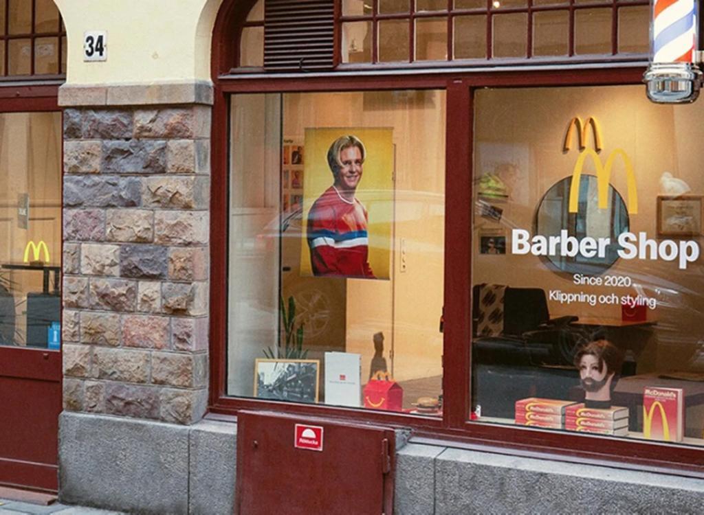 Restaurante de comida rápida abre una barbería y ofrece sólo un corte específico