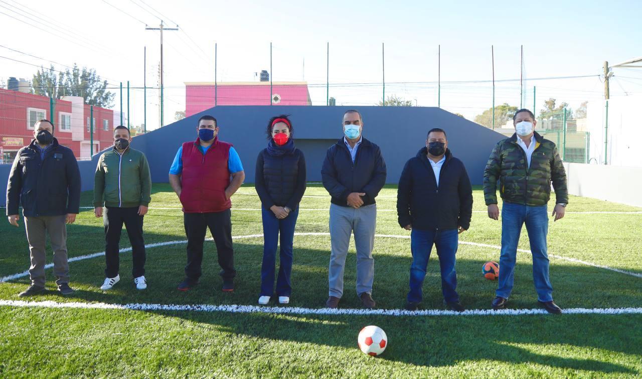 Entrega Municipio unidad deportiva
