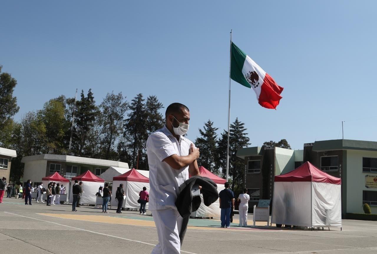 México, lugar 13 en vacunación