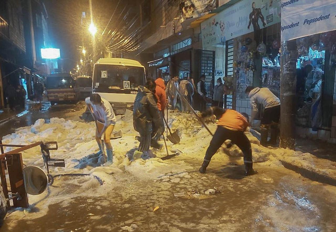 Granizada deja 3 muertos en Bolivia