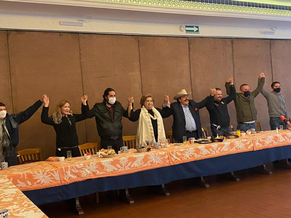 Morena, UDC y PT van en alianza en Coahuila