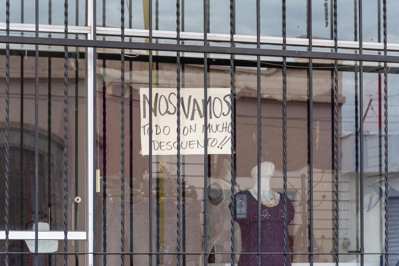 Cerraron 1,350 comercios en Durango; hay 350 en riesgo