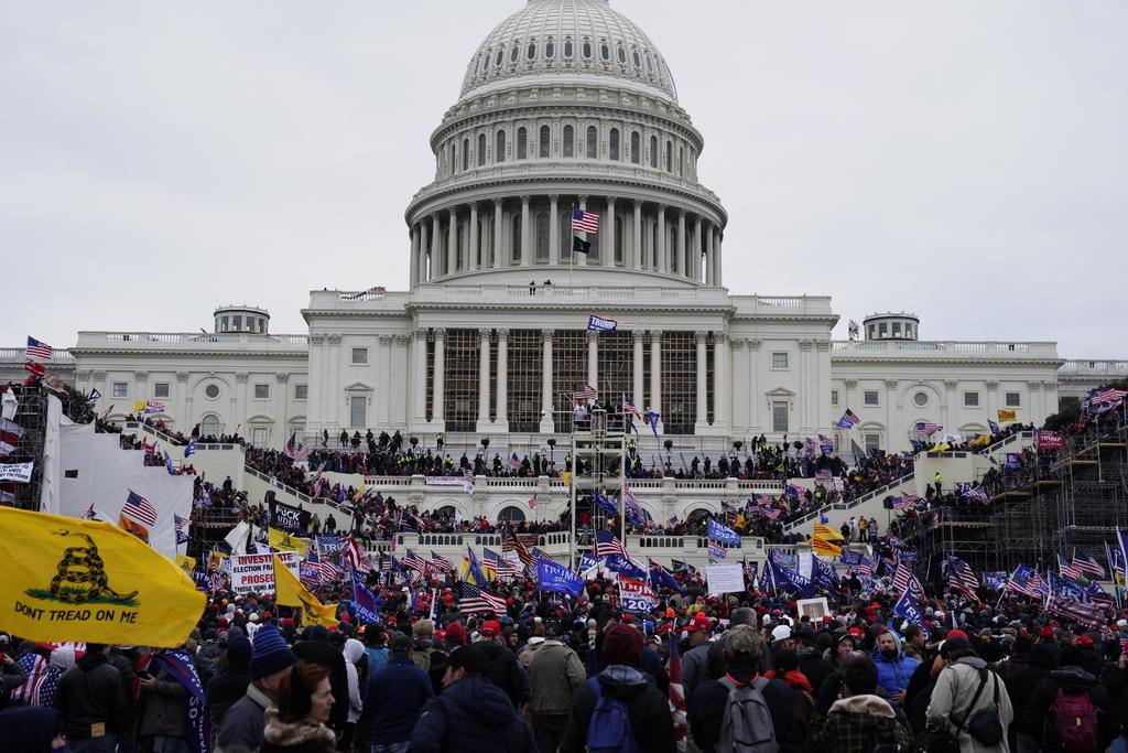 Lideres mundiales condenan la toma del Capitolio de EUA