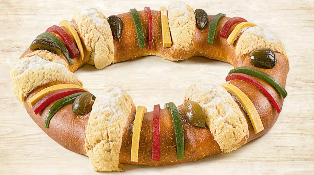 ¿Cuál es el valor nutricional de la rosca de Reyes?