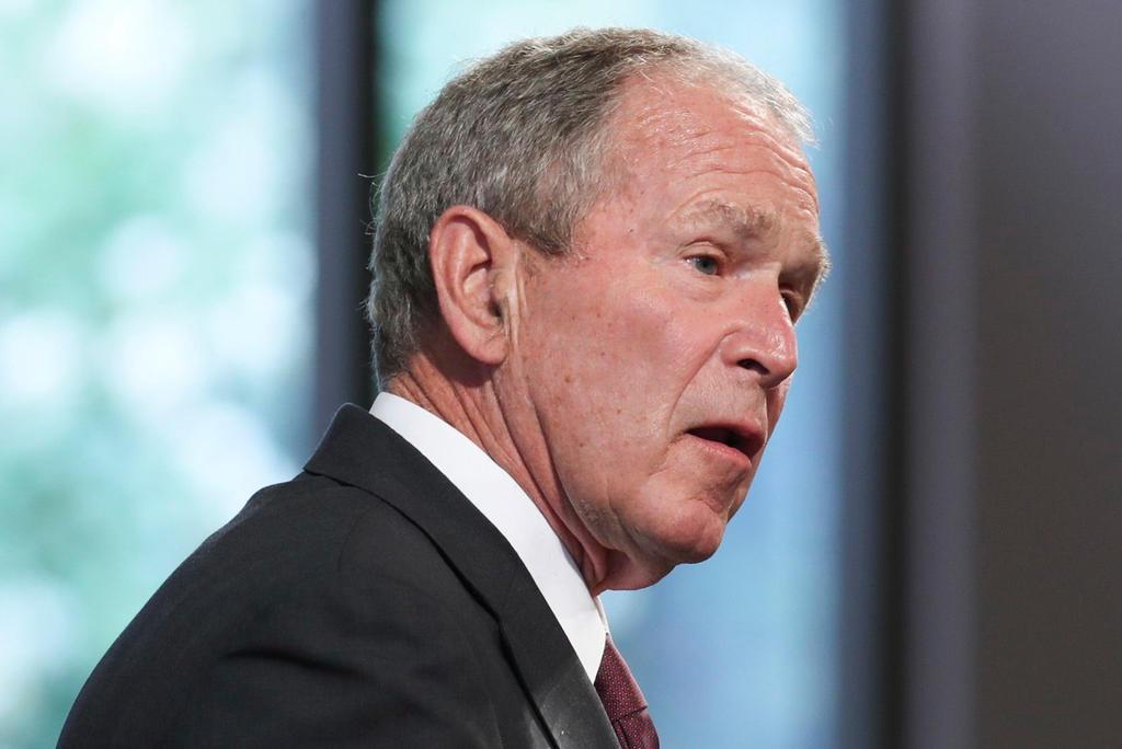 George W. Bush califica como 'repugnante' la manifestación en el Capitolio
