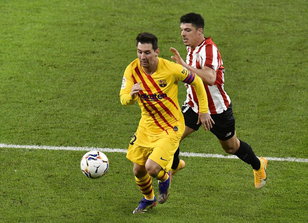 Barcelona recupera terrero 2-3 ante el Athletic Bilbao