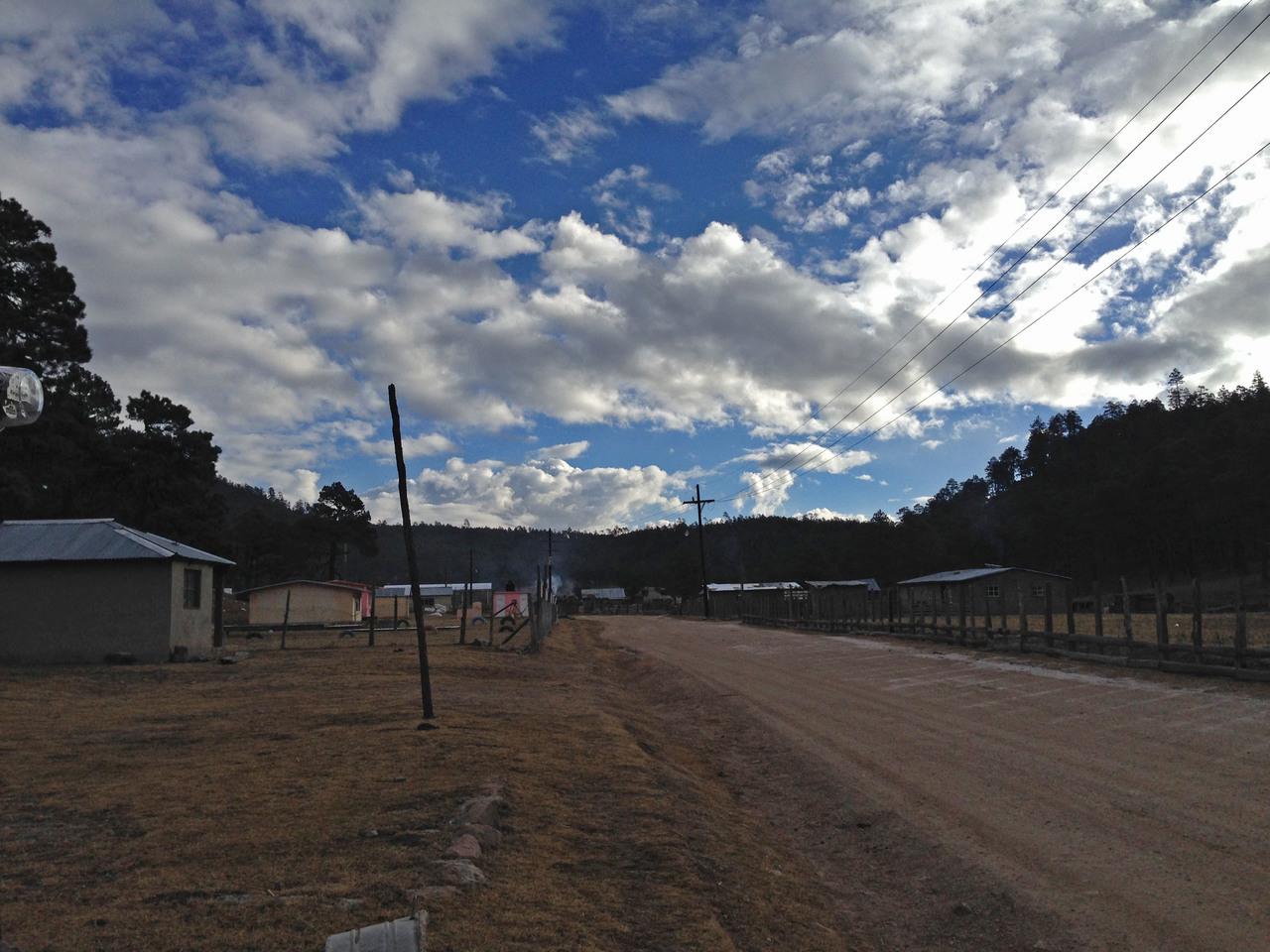 Temperaturas negativas en sierra y norte de Durango