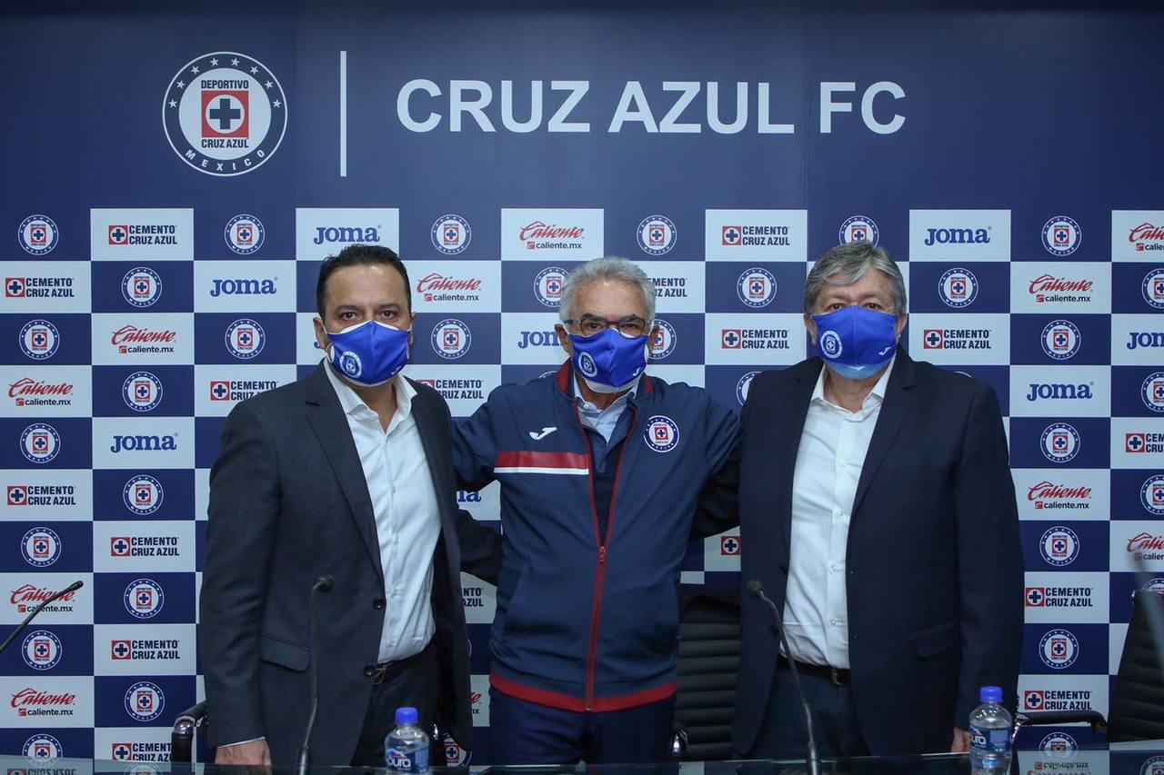 Álvaro Dávila es  nuevo presidente del Cruz Azul