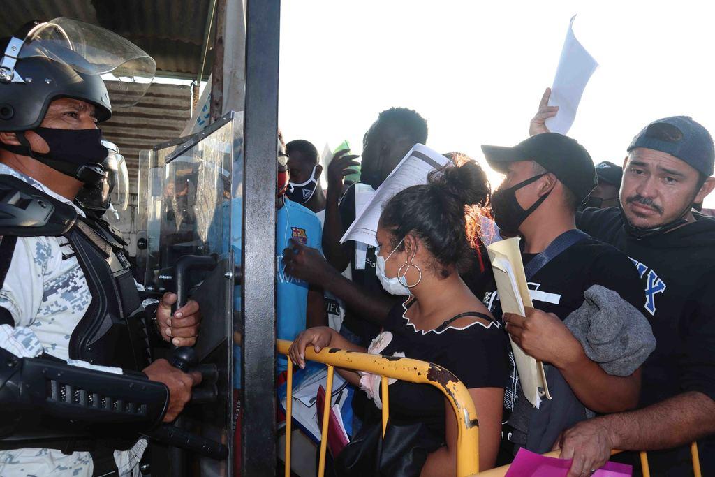Suspende el INM atención en Chiapas