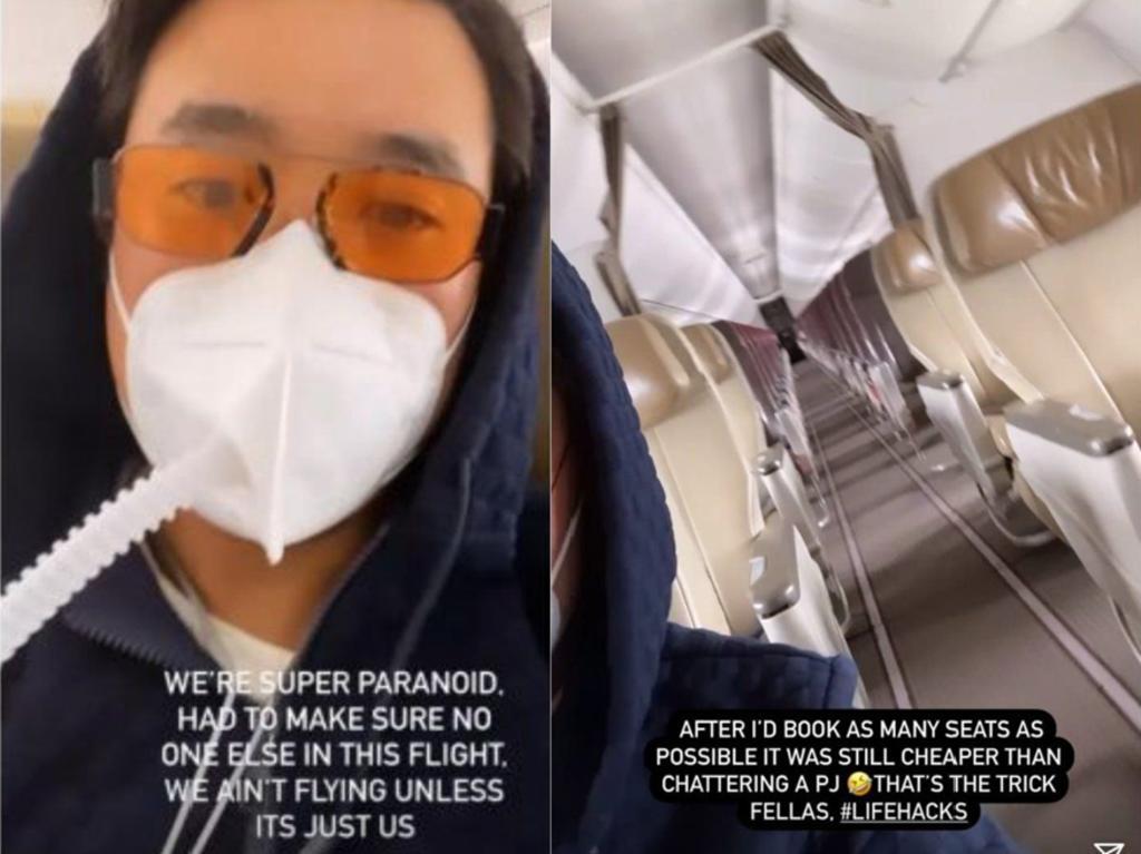 Hombre compra todos los asientos de un vuelo para poder viajar solo