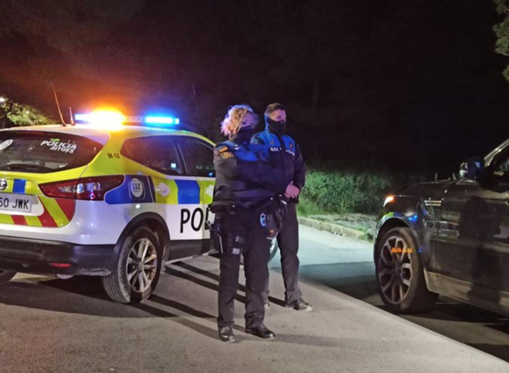 Policía intercepta un auto que era conducido por un niño de 9 años