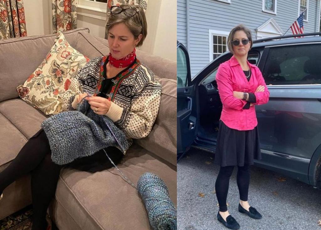 Mujer lleva 100 días usando exactamente el mismo vestido