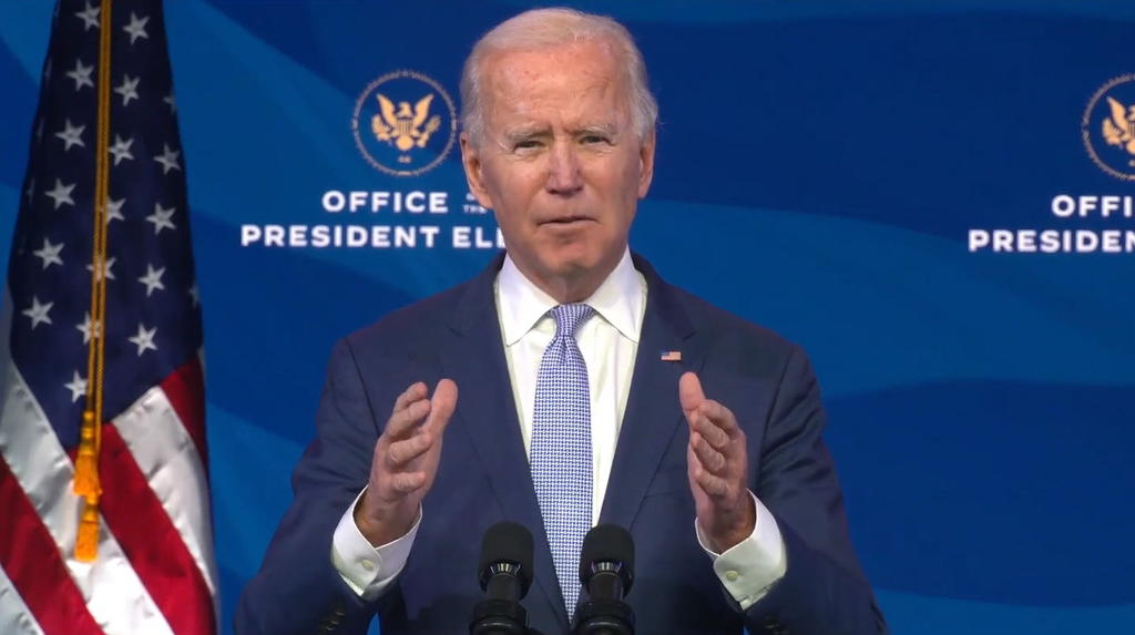 Celebra Biden que Trump no vaya a asistir a su investidura