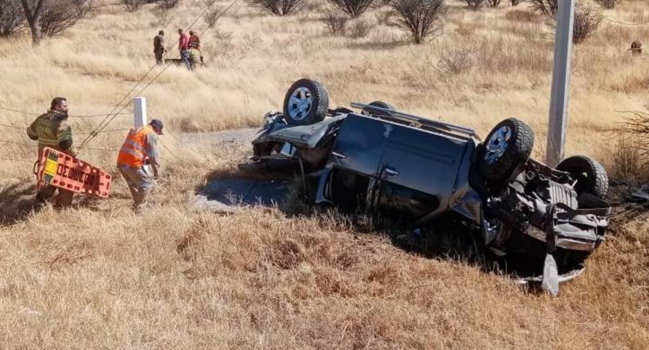 Identifican a víctimas de accidente en autopista Durango-GP; iban a EU