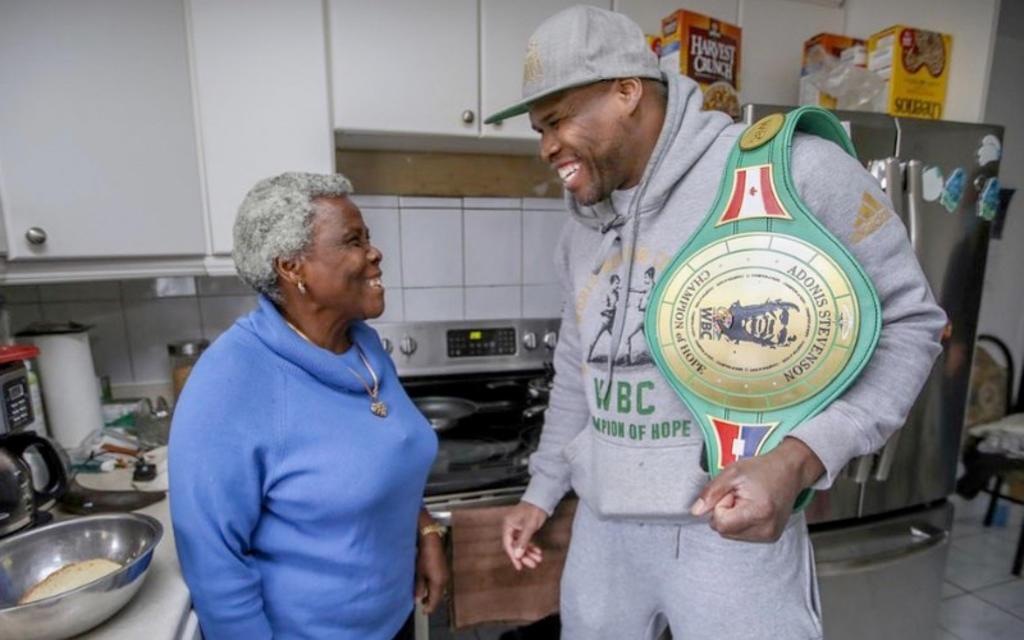 Adonis Stevenson, excampeón de WBC,  'agradecido con la vida'
