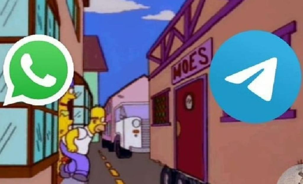 Dicen 'adiós' a WhatsApp y migran a Telegram; lo celebran con memes