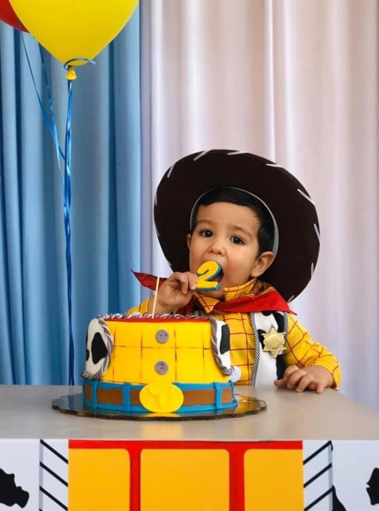 ¡Feliz cumpleaños Santi!