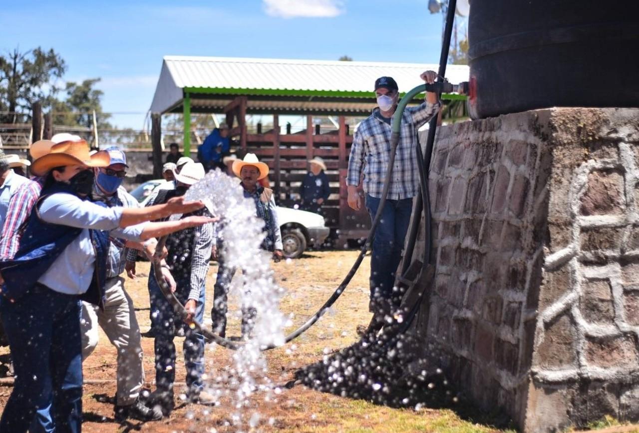 Garantizan abasto de agua potable