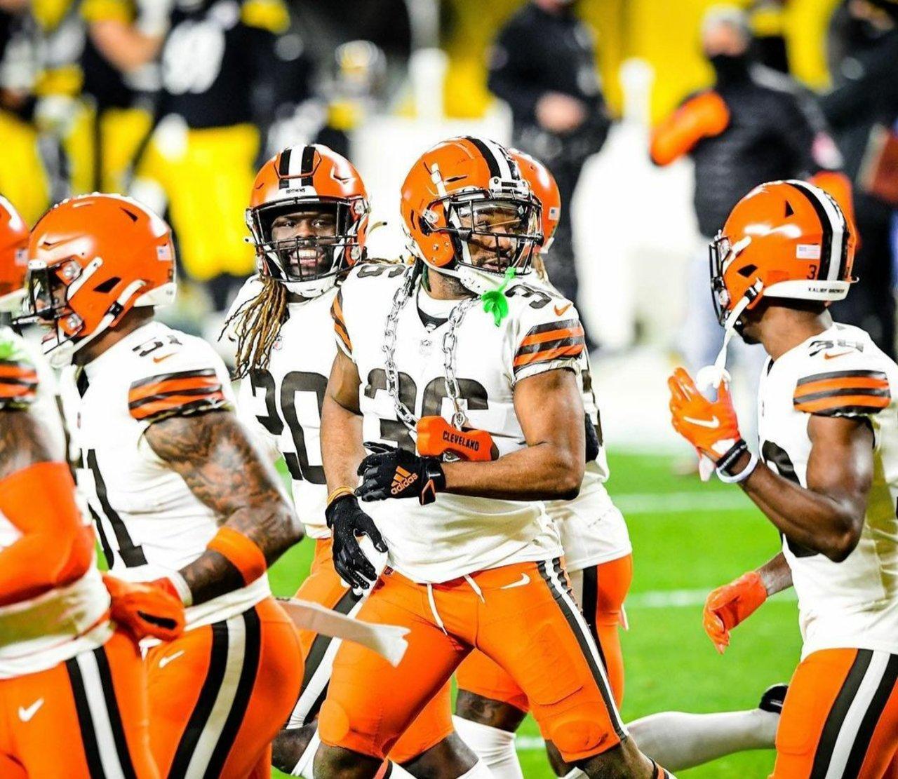 Browns funden el acero