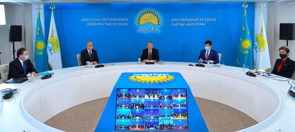 Arrasa Nur Otan en comicios de Kazajistán