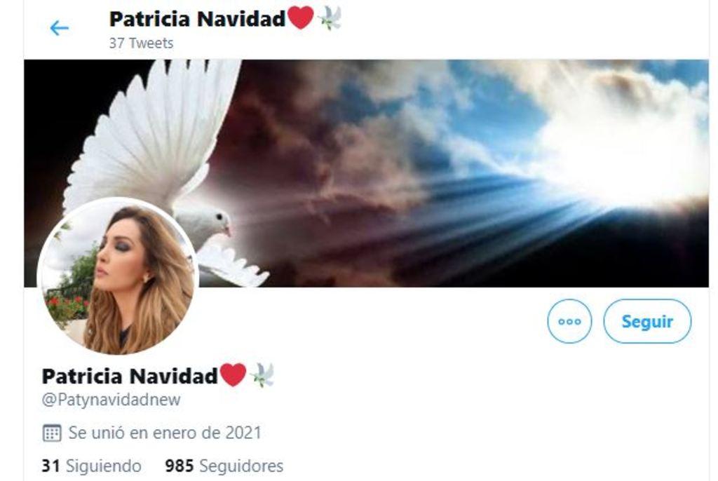 Paty Navidad vuelve a Twitter con cuenta nueva
