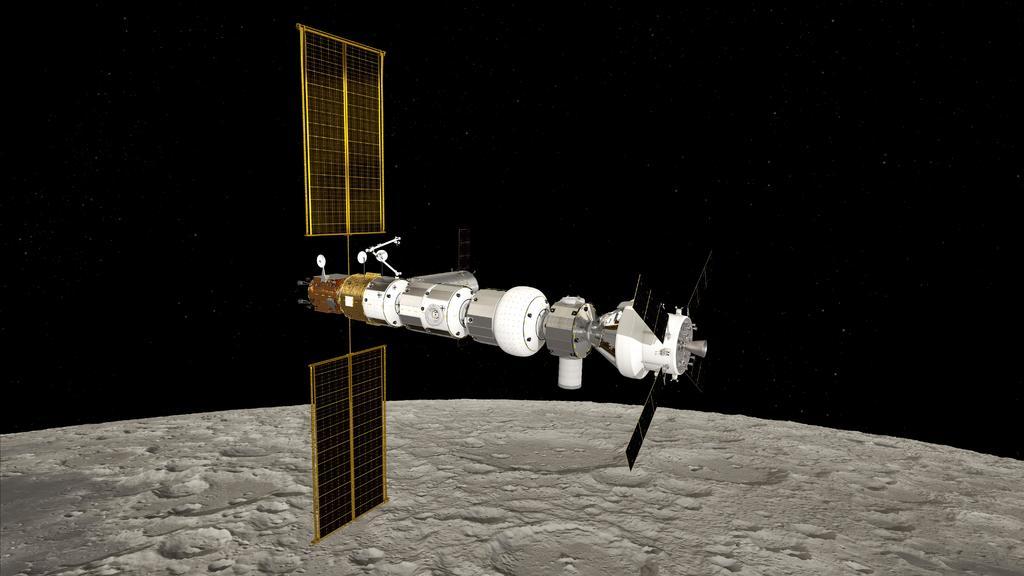 ESA adjudica a Thales Alenia un contrato para la estación lunar Gateway