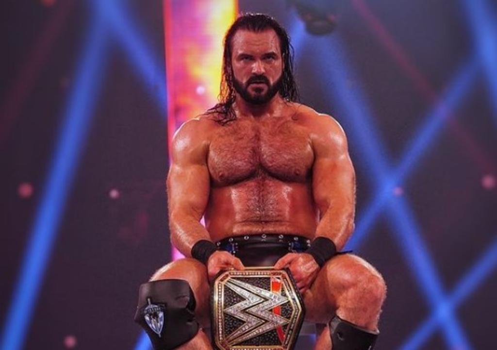 Campeón de la WWE, Drew McIntyre, da positivo a COVID