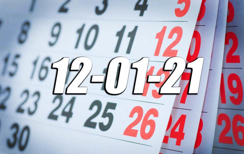 ¿Por qué hoy martes 12 de enero del 2021 es un día capicúa?
