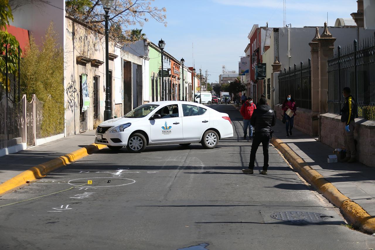 Sujeto realizó disparos en Zona Centro de Durango