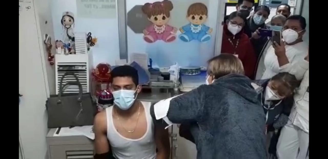 ISSSTE comienza aplicación de vacuna Covid con retardo