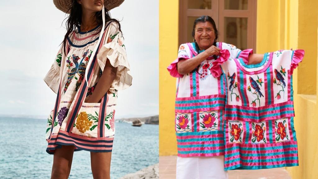 Acusan a marca australiana de plagiar textiles indígenas mexicanos