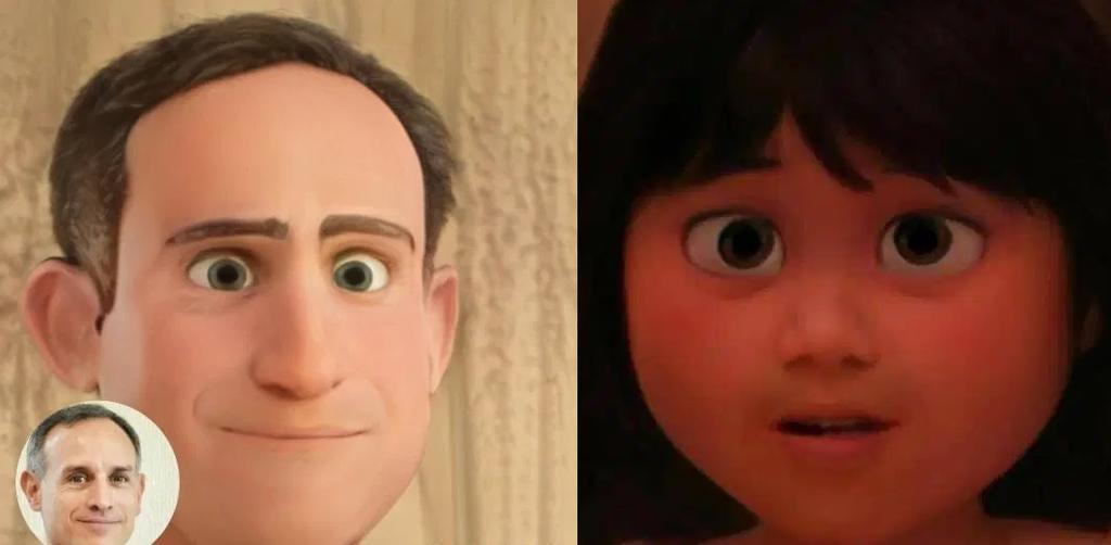 ¿Cómo puedes hacer tu propio personaje 'Pixar'?