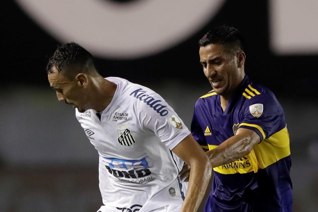 Santos va a la final brasileña tras vencer al Boca Juniors