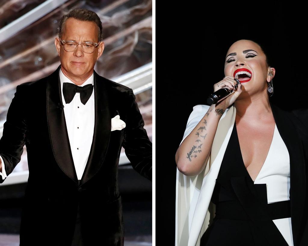 Tom Hanks y Demi Lovato serán parte del especial televisivo que 'celebra' la investidura de Joe Biden