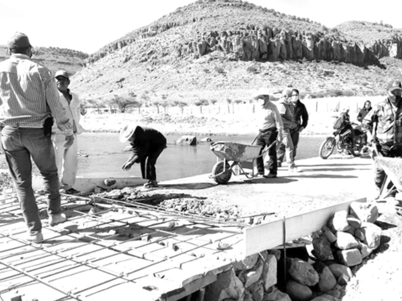 Analizan obras que piden en zona rural