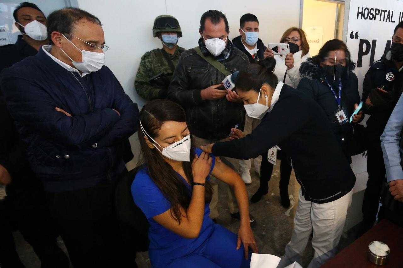 Inició vacunación contra Covid en Durango