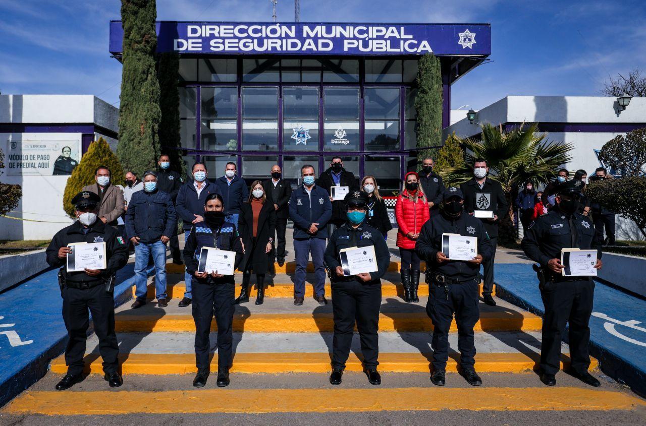Consolida Municipio un Durango más seguro