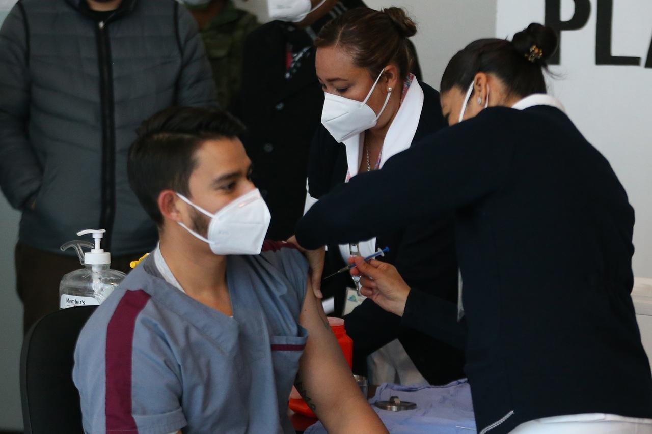 Menos vacunas llegaron a Durango