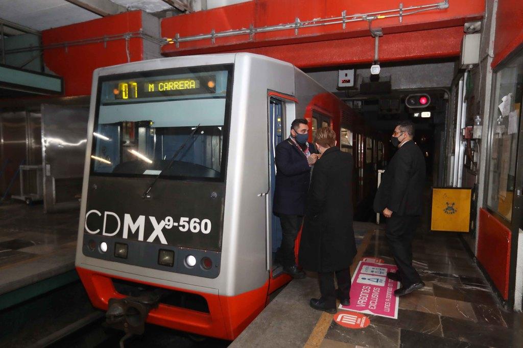 Alista Metro puesto de control emergente