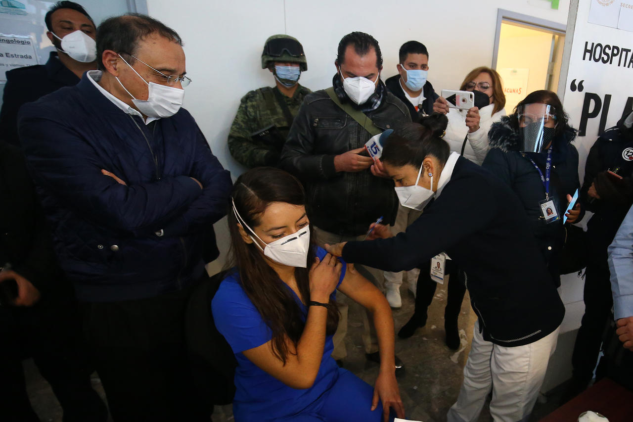 Vacunación anti Covid, trabajo conjunto entre Federación y Estado